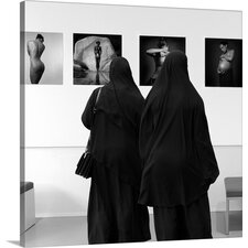 Watching Exhibition by Huib Limberg Photographic Print on Canvas