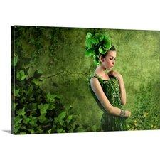 Green by M Salim Bhayangkara Photographic Print on Canvas