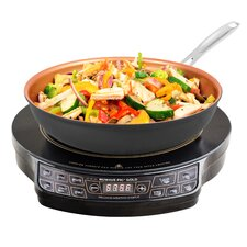 """PIC Gold 12.25"""" Electric Induction Cooktop"""