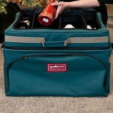 Premium Christmas Top Deep Pocket Adjustable Ornament Storage Bag