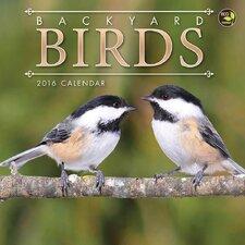 2016 Backyard Birds Mini Calendar