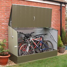 4 Ft. W x 3 Ft. D Steel Storage Shed