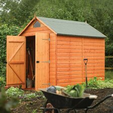 6 Ft. W x 8 Ft. D Secure Storage Shed