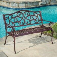 McKinley Cast Aluminum Garden Bench