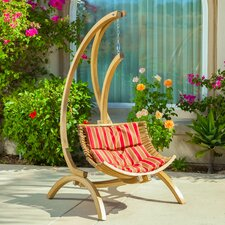 Catalina Swing Chair in Red