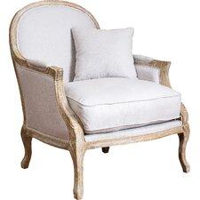 MacArthur Weathered Oak Arm Chair