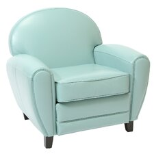 Lorenz Faux Leather Club Chair