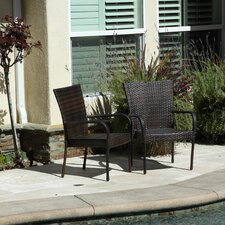 Curacao Outdoor Wicker Chair (set of 2) (Set of 2)