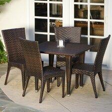 Edward 5 Piece Outdoor Dining Set