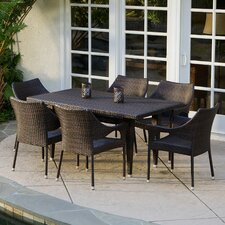 Norm 7 Piece Outdoor Dining Set (Set of 7)