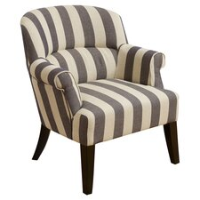 Drake Stripe Lounge Chair