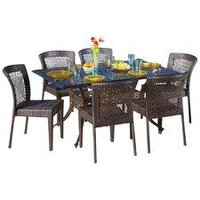 Rowan 7 Piece Outdoor Dining Set