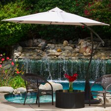 9.8' Sargent Cantilever Outdoor Canopy Umbrella