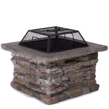 Seymour Natural Stone Fire Pit