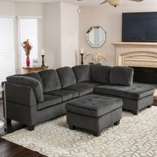 Evan Sectional with Ottoman