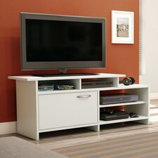 Step One Pure White TV Stand