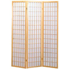 "70"" x 53"" Sonji 3 Panel Room Divider"