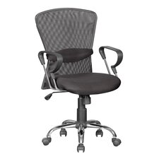 High-Back Mesh Office Chair with Arm Rest