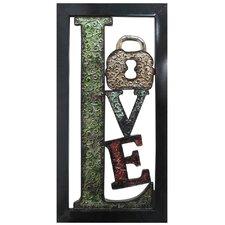 """""""Love"""" Wall Décor"""