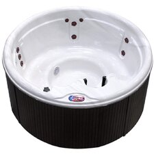 5-Person 11-Jet Round Spa with Spa Light