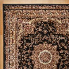 Harrison Black Area Rug