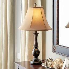 "24"" H Table Lamp with Bell Shade"