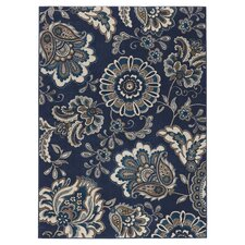 Fisher Blue Area Rug
