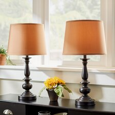 Fuller 22'' H Table Lamp with Empire Shade (Set of 2)