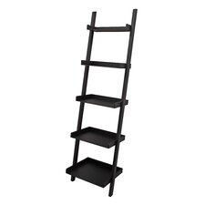 """East 67"""" Leaning Bookcase"""