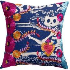 Mexico Carina Print Cotton Throw Pillow