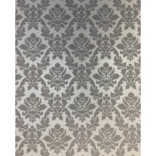 "Renaissance 33' x 20"" Damask Wallpaper"