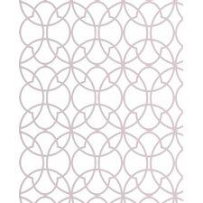 "Solace 33' x 20"" Geometric Wallpaper"