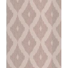 """Kelly Hoppen Style 33' x 20"""" Geometric Wallpaper"""