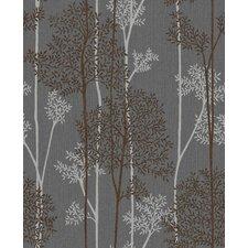 "Innocence 33' x 20"" Floral Botanical Wallpaper"