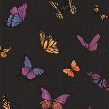 "Fabulous Flutter 32.8' x 20.5"" Butterflies Embossed Wallpaper"