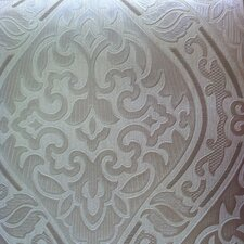 """Hermitage 33' x 20.5"""" Damask Wallpaper"""