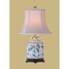 """22"""" H Jar Table Lamp with Bell Shade"""
