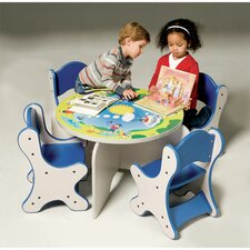 Harmony Park Kids 5 Piece Table and Chair Set