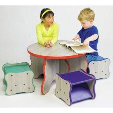 Wavy Legs Kids Side Table
