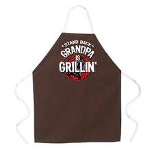Grandpa is Grillin Apron