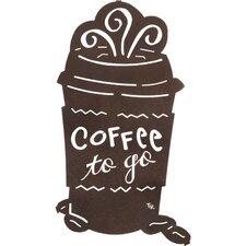 Coffee To Go Wall Decor