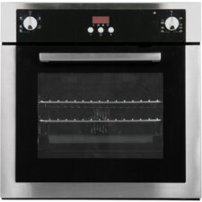 "Cosmo 24"" Electric Single Wall Oven in Stainless Steel"
