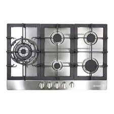 "30"" Gas Cooktop with 5 Burners"