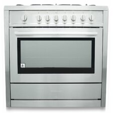 3.8 Cu.Ft. Gas Range in Stainless Steel