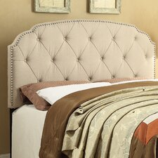 Nail Head Full / Queen Upholstered Headboard