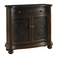 1 Drawer and 2 Door Accent Chest