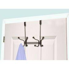 2 Hook over the Door Coat Rack