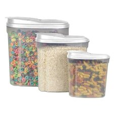 3 Piece Cereal Container Set