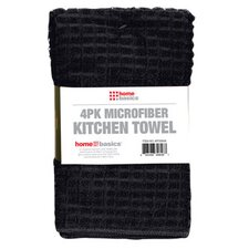 Microfiber Towel (Pack of 4) (Set of 2)