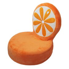 Critter Cushion Orange Kids Chair